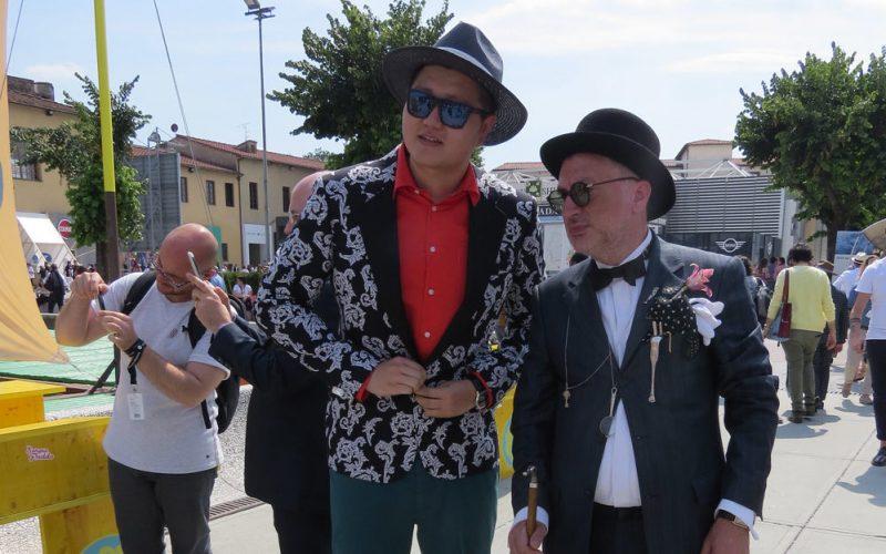 Dandy at Pitti Uomo Firenze as ambassador of Men's Fashion Group