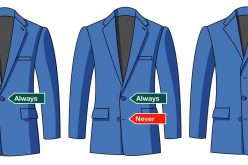 How should a man's suit fit?