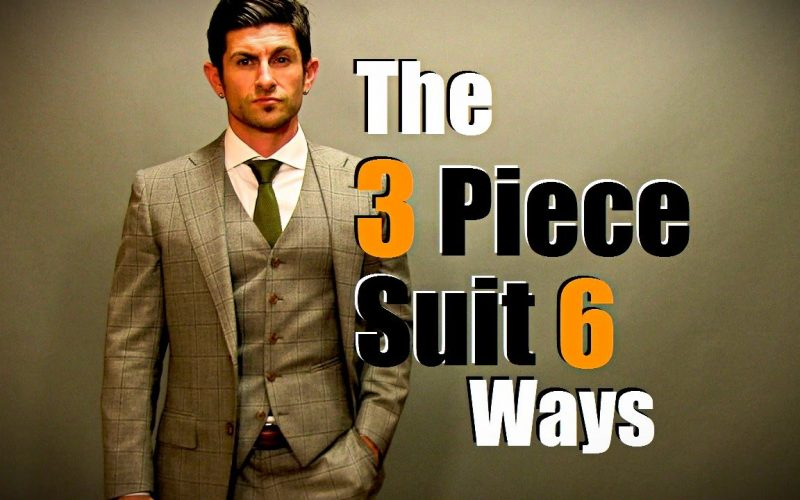 Three pieces, six ways of wearing them!